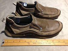 SKECHERS GENUINE SOCKLESS FOOTWEAR Men's Casual Slip On Shoes US 8