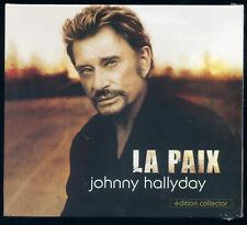 JOHNNY HALLYDAY LA PAIX CD 2 TITRES EDITION COLLECTOR 2006 SCELLE