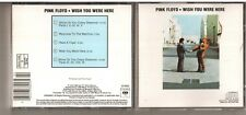 Early Press Pink Floyd Wish You Were Here DADC for Canada CD CK33453 DIDP050004