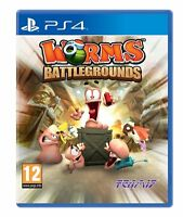 Worms Battlegrounds For PS4 (New & Sealed)