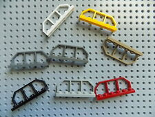 4 Lego Plate Modified 1 x 6 with Train Wagon End part 6583 pick your color