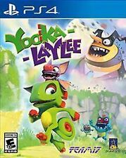 Yooka-Laylee (Sony PlayStation 4, 2017)  *Factory Sealed*