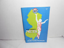 New Jersey Nets Vintage Basketball Yearbooks