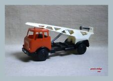 CRANE TRUCK NEW NO BOX MADE IN GREECE VINTAGE RARE PLASTIC GREEK TOW TRUCK