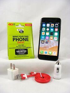 Apple iPhone 7-128GB Sprint/Straight Talk with 4G LTE Activation Nano SIM card