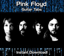 PINK FLOYD ROCK GUITAR TAB TABLATURE DOWNLOAD SONG BOOK SOFTWARE TUITION