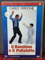 IL Bambino e il Poliziotto DVD Carlo Verdone Ex Noleggio Come Foto N