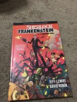 SHERLOCK FRANKENSTEIN AND THE LEGION OF EVIL TPB FIRST PRINTING