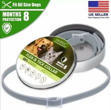 Cheaper than Seresto! Flea and tick collar for Cat or Dog 8 Months Protection