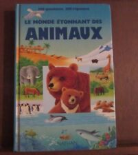 LE MONDE ÉTONNANT DES ANIMAUX