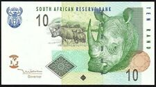 2005 South Africa 10 Rand Banknote * FE 3282038 A * gVF * P-128a *