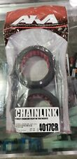 AKA Chainlink 1:8 Buggy Tires W/ Red Inserts Clay Compound AKA14017CR - NIP