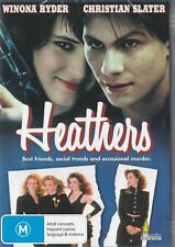 HEATHERS - WYNONA RYDER & CHRISTIAN SLATER - NEW & SEALED FREE LOCAL POST