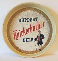 RUPPERT KNICKERBOCKER BEER TRAY, 13 INCH HEAVY METAL TRAY, EXCELLENT
