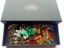 Std Blade Fuse Pack 7 sizes 35 pieces Housed in handy Land Rover Glove Box
