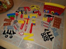 Mickey Mouse Clubhouse Handy Helper Tool Box & Mousekadoer Tool Set Lot Disney
