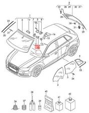Genuine Sensor For Air Humidity AUDI VW A3 Cabriolet 8U0955559