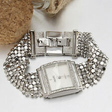 Gorgeous Jewelry Women Quartz Watch Bracelet Vintage Party Wedding Occasion Case