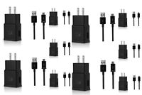 LOT Adaptive Fast Rapid Wall Charger For Samsung Galaxy S6 S7 Edge Note 4 Note 5