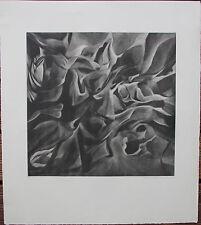 BOUMESTEER Christine Gravure eau-forte signée num 1967 Goetz Hartung Kandinsky *