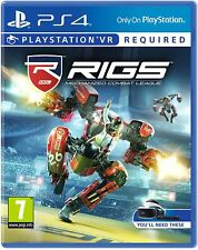 RIGS PS4 Mechanized Combat League PSVR PlayStation 4 5 VR Game - New & Sealed