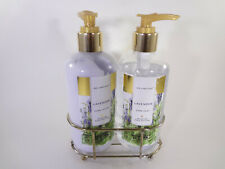 Spa Luxetique Lavender Hand Lotion and Soap enriched w Shea Butter 10 oz ea{HB-S