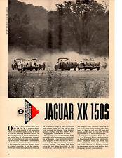 1959 JAGUAR XK 150S ~ ORIGINAL 2-PAGE NEW CAR PREVIEW ARTICLE / AD
