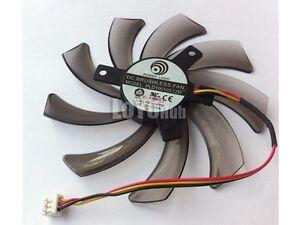For Gigabyte GV-N650TOC GV-N550D5 GV-N640OC cooling fan PLD10010S12M 12V 0.20A