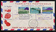 Ned. Antillen FDC E2 _3 M, met adres ;