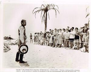 "Gary Merrill publicity 1961 8x10"" original movie still photo #735"