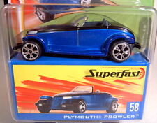 Matchbox Neue SF Serie 2004 No. 58 Plymouth Prowler in blaumetallic