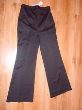 BNWT 🌸 Next 🌸Size 10 Evening Maternity Trousers Smart  Black Stretchy NEW 38EU