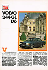 PUBLICITE ADVERTISING 034   1979   VOLVO   244 GL D6