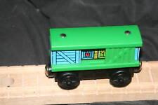 GREEN BOX TRAIN wood Thomas - RARE