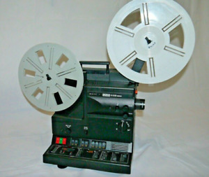 EUMIG S938 Stereo Super 8 sound projector MIB SUPROGON LENS see video FREE POST!