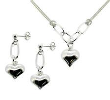 Lady Heart Sterling Silver Fine Necklaces & Pendants