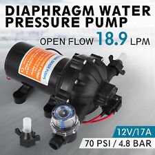18.9LPM Diaphragm Water Pump High Pressure 12V 17A Diaphragm Pagoda Filter