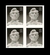 US 4860a Abraham Lincoln 21c imperf NDC block MNH 2014