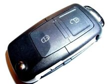 NEW 2 BUTTON REMOTE FLIP KEY FOB, 434Mhz for VW TRANSPORTER T5, GOLF, POLO, BORA