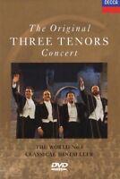 CARRERAS/DOMINGO/PAVAROTTI/MEHTA - THE ORIGINAL THREE TENORS CONCERT  DVD  NEW+