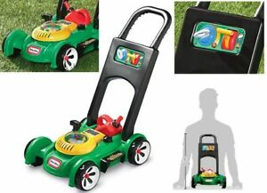 URBN-TOYS Kids Garden Lawnmower Pretend Play Outdoor Tools Play