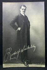 Rudolf Seibold Theater Oper Böhm München 1908 - Foto Autogramm-AK (Lot-H-5124