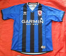 Boro MIDDLESBROUGH FC away shirt jersey  ERREA  2008-2009 men/ adult SIZE M