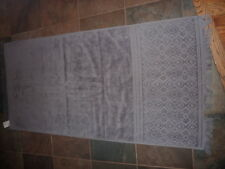 H & M GRAY PATTERNED BATH TOWEL    NEW
