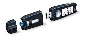 Genuine 3-in-1 Beurer GL 50 Glucometer USB Black blood glucose sugar tester NEW