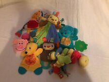 9 Piece Infant Toys / Rattles