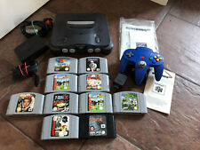 Nintendo 64 N64 Console bundle Includes 10 games Tested Working