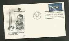 PROJECT MERCURY ATLAS -8  WALTER M. SCHIRRA JR NOV 16,1962 NY STAMP  **** ORBIT