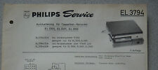 Philips el3794 Service hoja stand 06/67 coche de Haicom para am 3300 3301 3302
