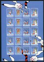 Aland Kleinbogen postfrisch MNH Weihnachtsmarken 2009 (Wei858